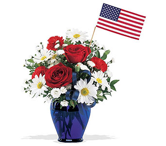Let Freedom Ring Bouquet in St. Louis MO, Walter Knoll Florist