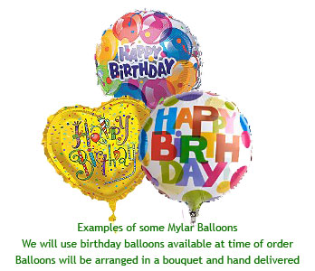 Birthday Balloons in Calgary AB, All Flowers and Gifts