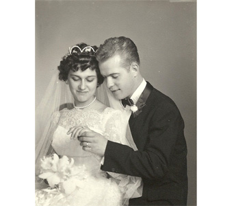 1961 - Bride & Groom in Ellicott City MD, Raimondi's Weddings
