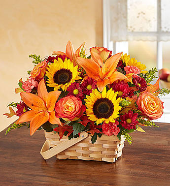 Fields of Europe for Fall Basket in El Cajon CA, Conroy's Flowers