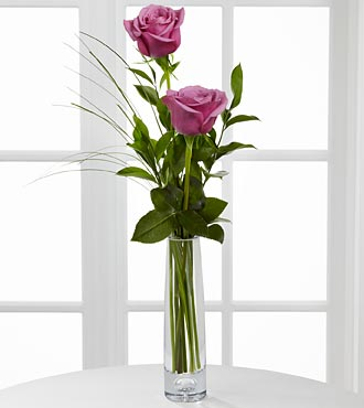 Double Beauty Bud Vase- Lavender in Perrysburg & Toledo OH  OH, Ken's Flower Shops