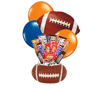 Auburn Football Candy Bouquet in Birmingham AL, Norton's Florist