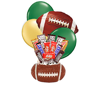 UAB Football Candy Bouquet in Birmingham AL, Norton's Florist