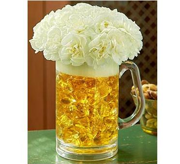 Beer Mug of Blooms in Perrysburg & Toledo OH  OH, Ken's Flower Shops
