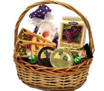 Party Wine Mixer Gourmet Basket in Birmingham AL, Norton's Florist