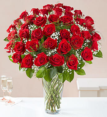 4 Dozen Long Stem Premium Red Roses in El Cajon CA, Conroy's Flowers