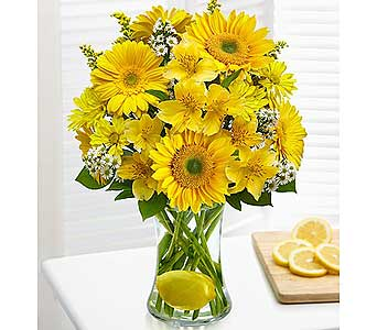 Make Lemonade in a Vase in El Cajon CA, Conroy's Flowers