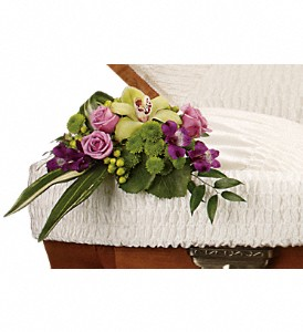 Dearest One Casket Insert in Santa Monica CA, Edelweiss Flower Boutique