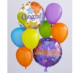 Congrats Balloon Bouquet in Perrysburg & Toledo OH  OH, Ken's Flower Shops
