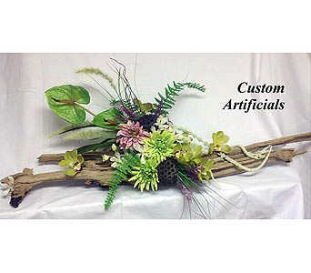 Tropical On Driftwood In Naples Fl Flowers