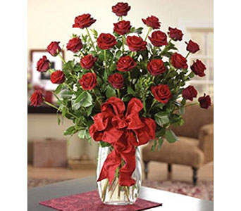 Two Dozen Red Roses in Mayfield Heights OH, Mayfield Floral