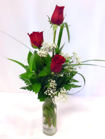 Rose Bud Vase: Multiples Available in Las Vegas NV, A French Bouquet
