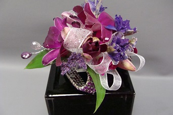 Purple Corsage in El Cajon CA, Jasmine Creek Florist