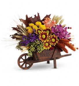 Teleflora's Antique Autumn Bouquet in Butte MT, Wilhelm Flower Shoppe