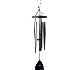 PEWTER FLECK WINDCHIME in Pittsburgh PA, Harolds Flower Shop