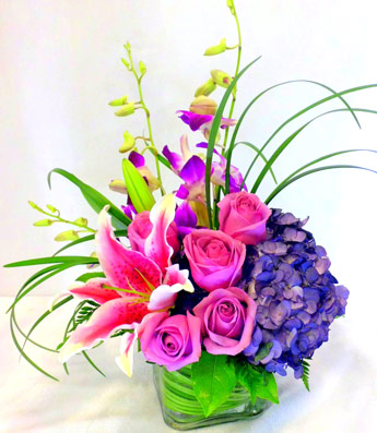 Purples, in Paris in Las Vegas NV, A French Bouquet