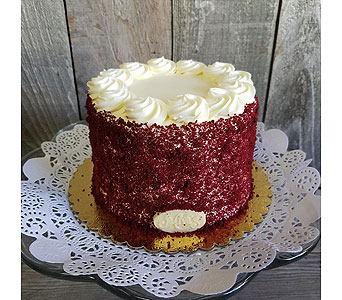 6 inch Red Velvet Cake in Portland OR, Portland Bakery Delivery