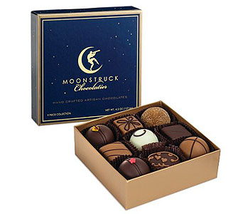 Moonstruck chocolates 9 piece  in Portland OR, Portland Florist Shop