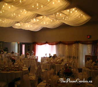 Ceiling Canopy in North Bay ON, The Flower Garden