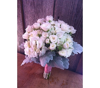 White Bridal Bouquet in Portland OR, Portland Florist Shop