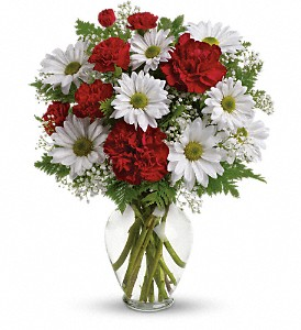 Kindest Heart Bouquet in Brownsburg IN, Queen Anne's Lace Flowers & Gifts