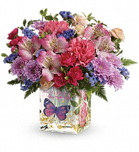 Teleflora's Enchanted Garden Bouquet in Chattanooga TN, Chattanooga Florist 877-698-3303
