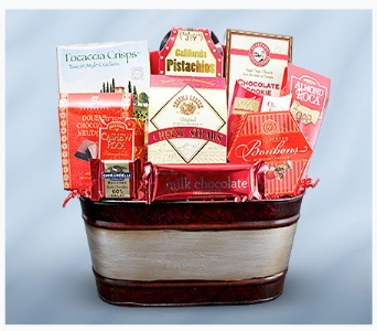 Holiday Favorites Gourmet Basket in Chicago IL, La Salle Flowers