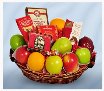 Holiday Fruit & Gourmet Basket in Chicago IL, La Salle Flowers