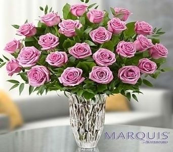 Marquis by Waterford� - Premium Purple Roses in El Cajon CA, Conroy's Flowers
