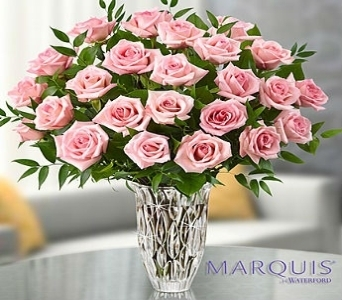 Marquis by Waterford� Premium Pink Roses in El Cajon CA, Conroy's Flowers