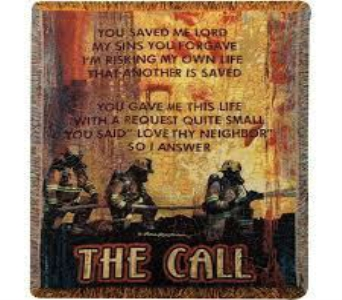 The Call Tapestry Throw in Perrysburg & Toledo OH  OH, Ken's Flower Shops