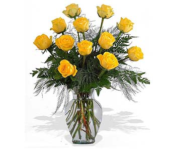 Yellow Roses in St. Louis MO, Walter Knoll Florist
