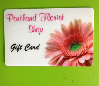 Flower Gift Card in Portland OR, Portland Bakery Delivery