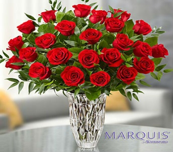 Marquis by Waterford Premium Red Roses in El Cajon CA, Conroy's Flowers
