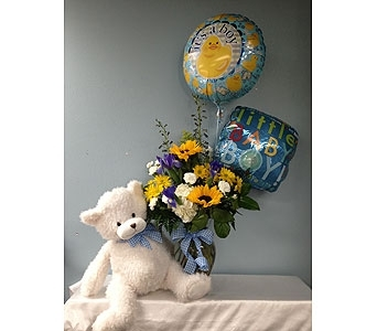 Baby Boy Bundle in Portland OR, Portland Florist Shop
