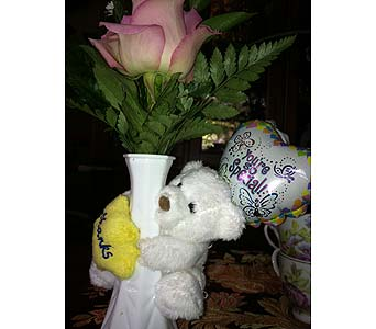 Thank You Bear in Chattanooga TN, Chattanooga Florist 877-698-3303