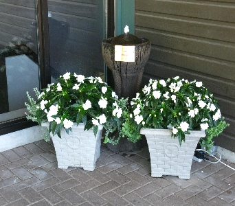 Outdoor Planters in North Bay ON, The Flower Garden