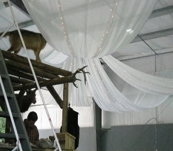 Custom Ceiling Canopy in North Bay ON, The Flower Garden
