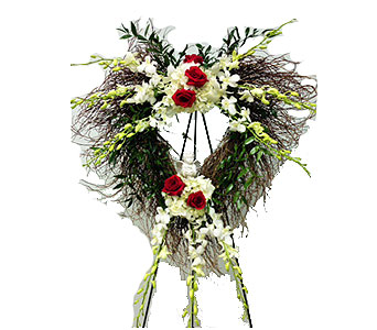 Angelic Angel Heart in Randallstown MD, Raimondi's Funeral Flowers