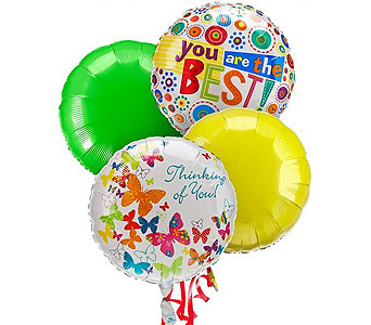 Thinking of You Balloon Bouquet in Raritan NJ, Angelone's Florist - 800-723-5078
