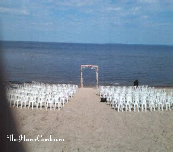 Beach Setting in North Bay ON, The Flower Garden
