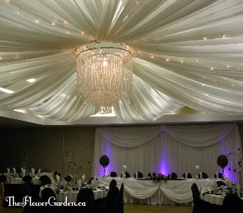 Deluxe Ceiling Canopy in North Bay ON, The Flower Garden