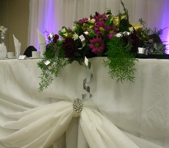Head Table Accents in North Bay ON, The Flower Garden
