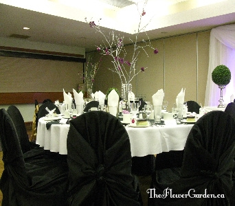 Table Setting in North Bay ON, The Flower Garden