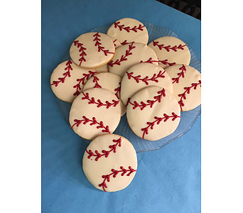 Baseball Cookies in Portland OR, Portland Florist Shop