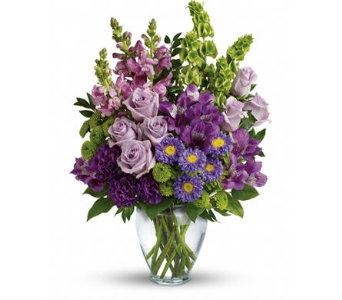 Lavender Kisses Bouquet in Santa Monica CA, Edelweiss Flower Boutique