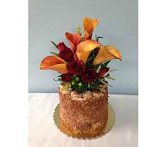 Fall Cake in Portland OR, Portland Florist Shop