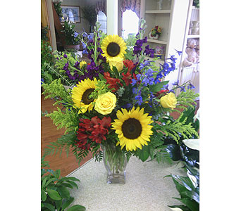SunBurst in Charlotte NC, Starclaire House Of Flowers Florist
