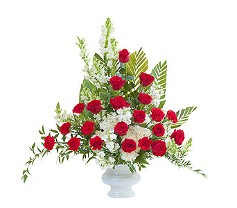 Enduring Strength Urn in Plantation FL, Plantation Florist-Floral Promotions, Inc.