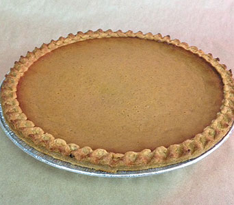 Pumpkin Pie in Portland OR, Portland Bakery Delivery
